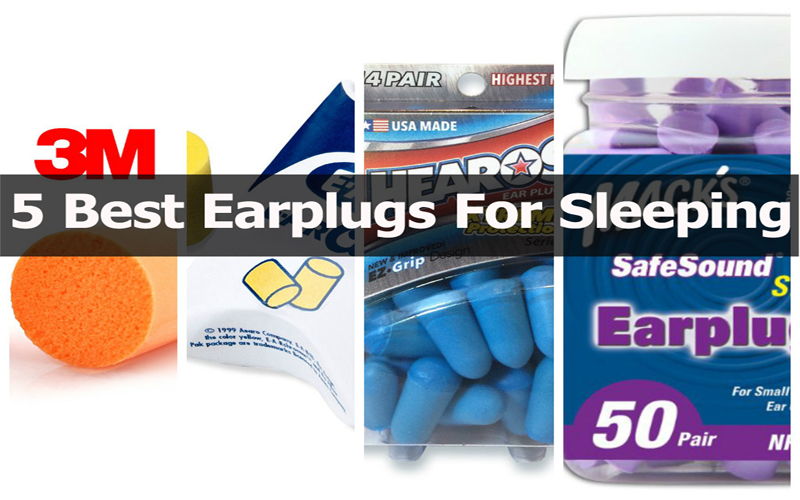 5 Best Earplugs For Sleeping Reviews
