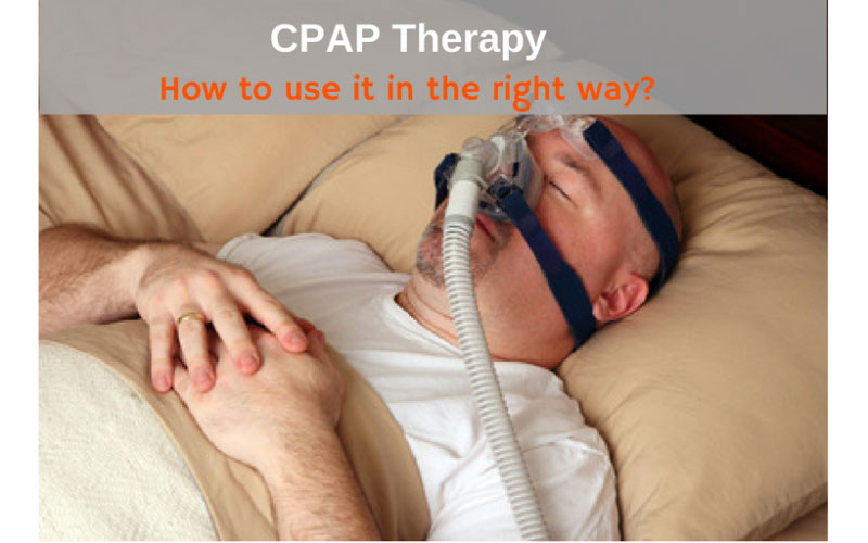 CPAP Therapy : How It Works? How Severe Sleep Apnea be Before Starts to Use?